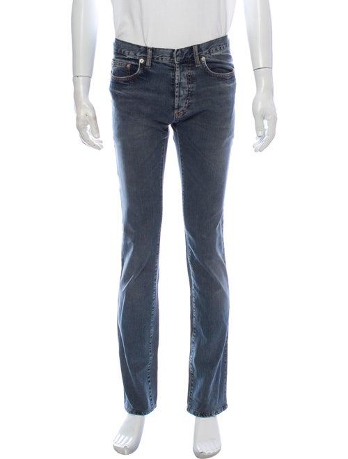 Dior Homme Dior Dart Skinny Jeans Blue