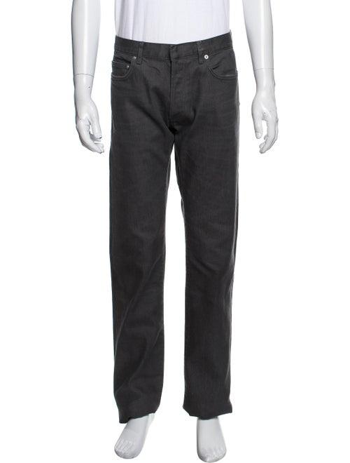 Dior Homme Straight-Leg Jeans Grey