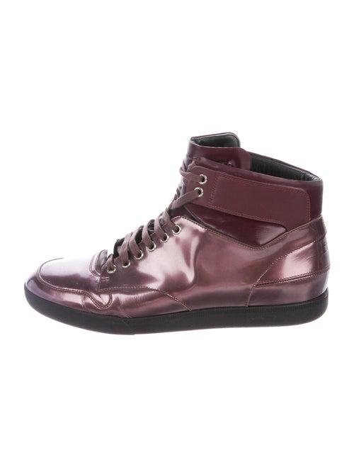 Dior Homme Metallic Sneakers Metallic