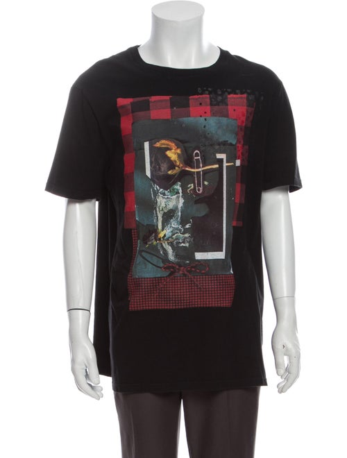 Dior Homme Graphic T-Shirt Graphic Print T-Shirt B