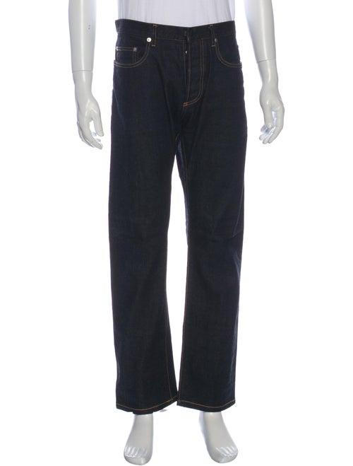 Dior Homme Selvedge Straight-Leg Jeans Blue