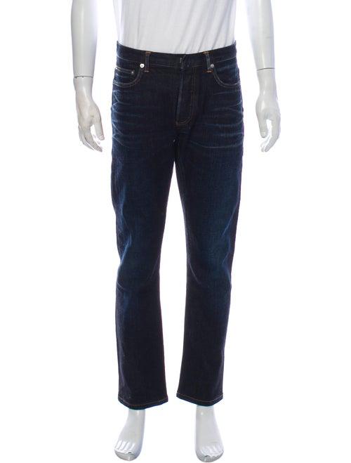 Dior Homme Straight-Leg Jeans Blue