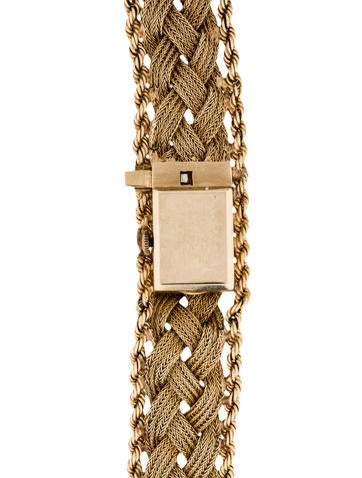 14K Diamond Surprise Watch Bracelet