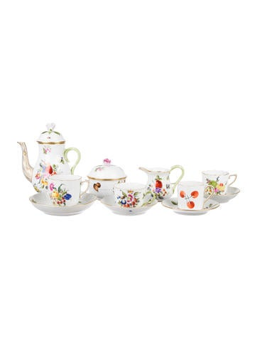 Herend 45-Piece Tea & Coffee Set None