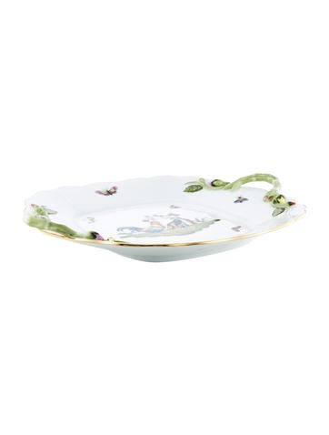 Herend Chanticleer Porcelain Tray None