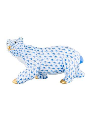 Herend First Edition Polar Bear Figurine None