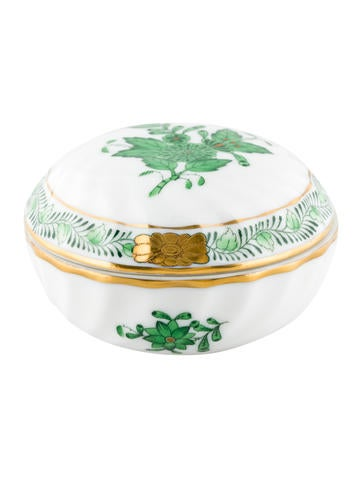 Chinese Bouquet Ring Box