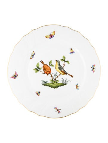 Rothschild Bird Dinner Plate