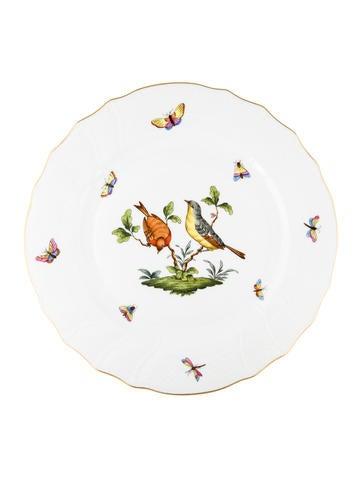 Rothschild Bird Dinner Plate
