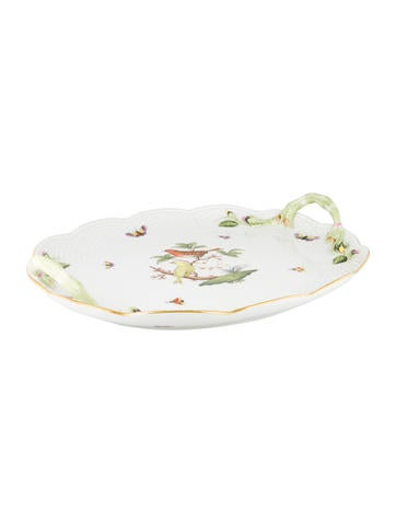 Herend Rothschild Bird Tray None