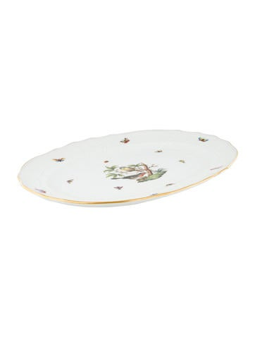 Herend Rothschild Bird Platter None
