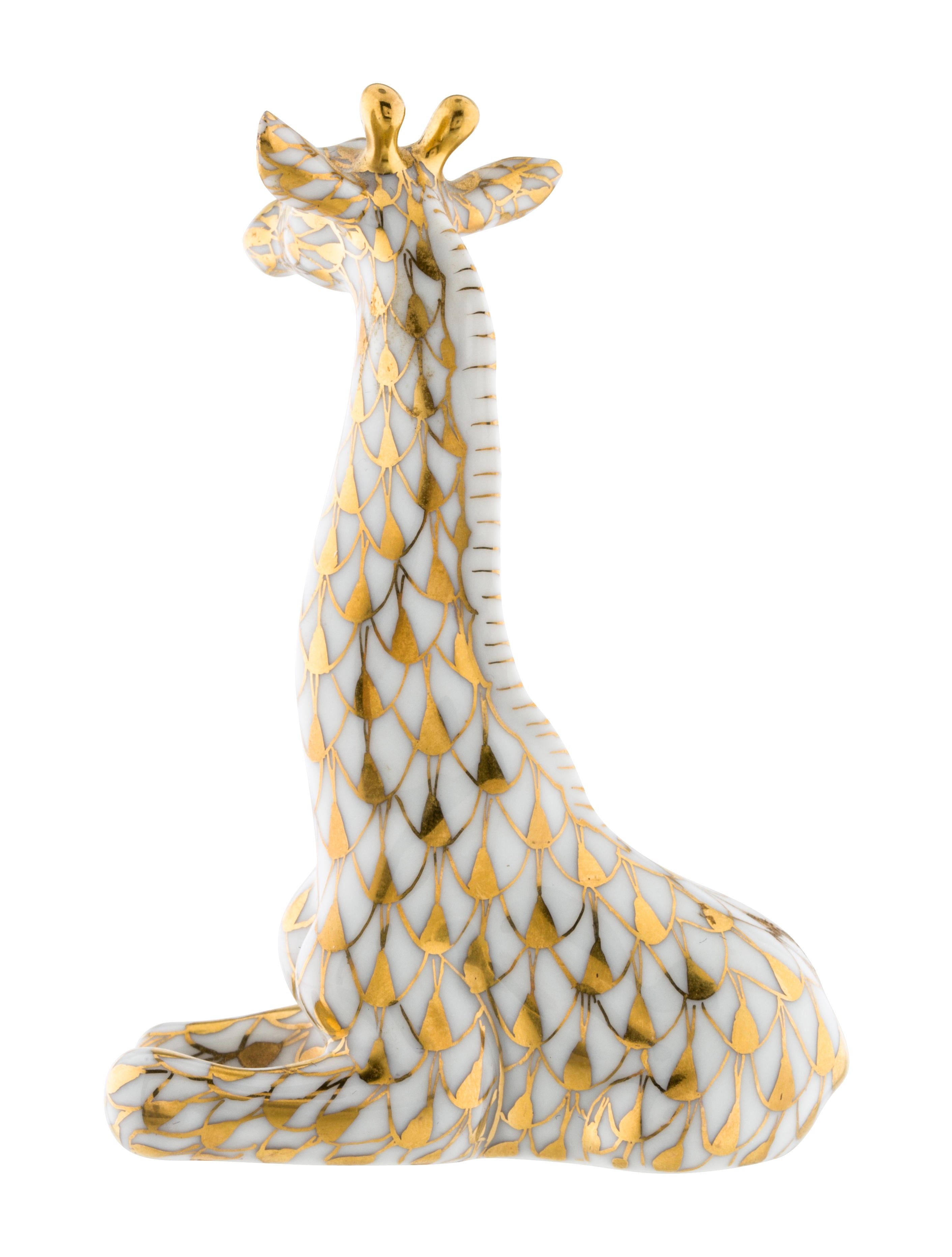 Herend Giraffe Figurine Decor And Accessories Hnd21337
