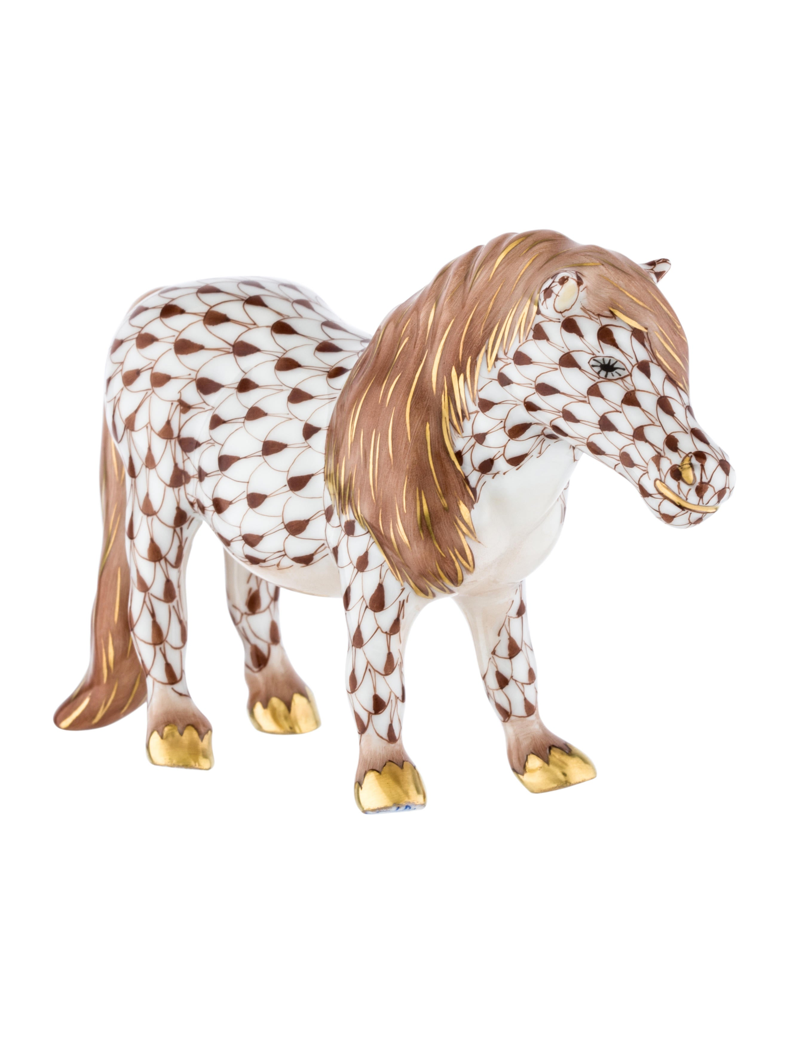 Herend Horse Figurine Decor And Accessories HND21403  : HND214032enlarged from www.therealreal.com size 2644 x 3488 jpeg 391kB