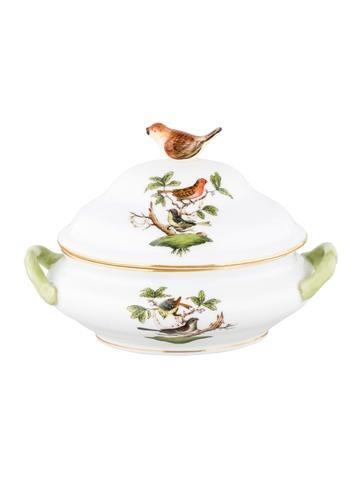 Herend Rothschild Bird Mini Tureen None