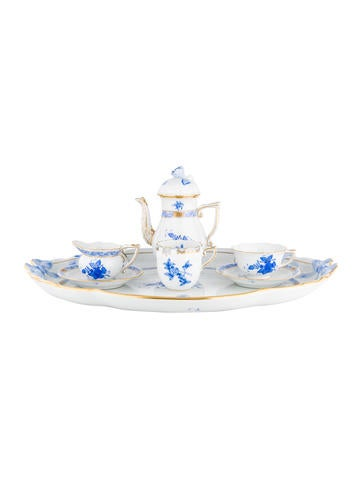 Herend 7-Piece Chinese Bouquet Partial-Coffee Service None