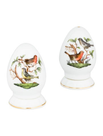 Herend Rothschild Bird Salt & Pepper Shakers None