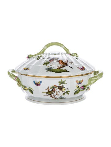 Herend Rothschild Bird Tureen None