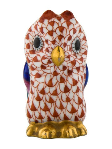owl home decor accessories herend porcelain owl figurine decor and accessories 11686