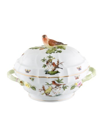 Herend Rothschild Bird Soup Tureen None
