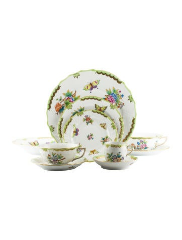 Herend 10-Piece Queen Victoria Place Setting None