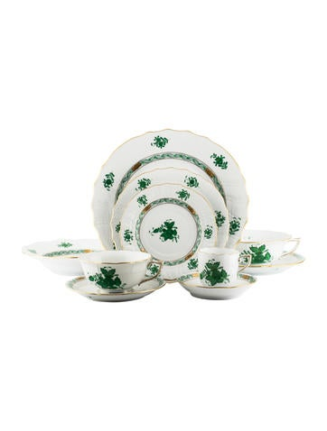 Herend 10-Piece Chinese Bouquet Place Setting None