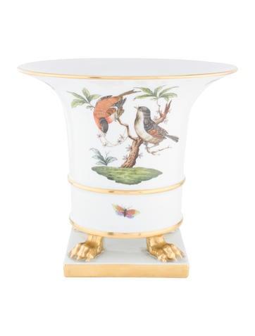 Herend Rothschild Bird Clawfoot Urn None