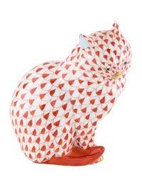 Cat Sitting Figurine image 1