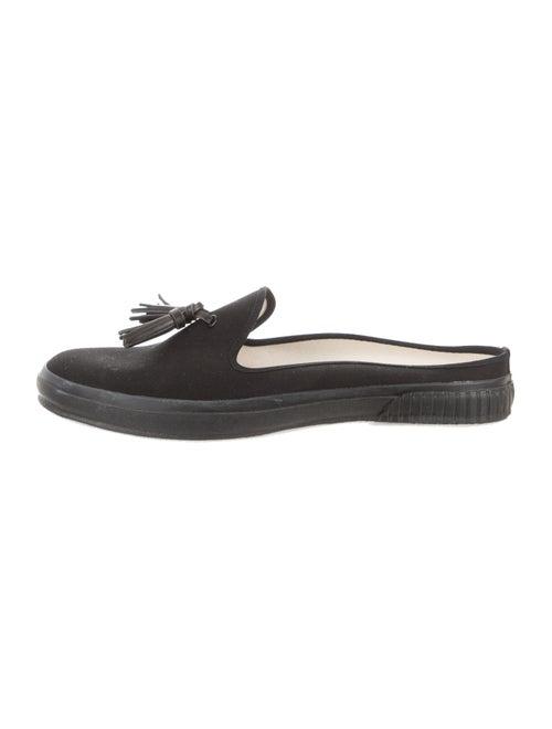 Hender Scheme Canvas Slip-On Shoes black