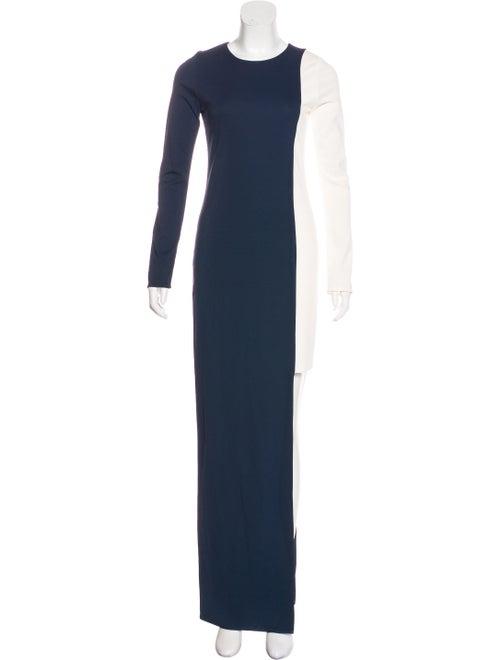 Haney Long Sleeve Maxi Dress Navy