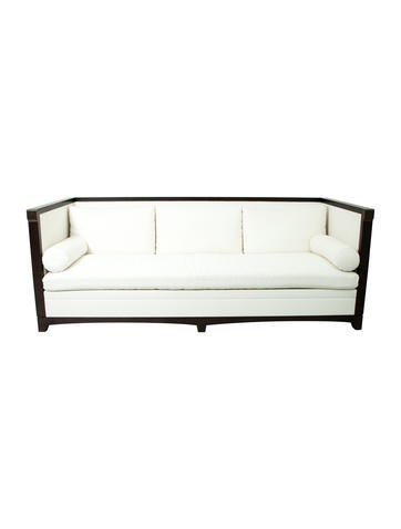 Upholstered High-Back Sofa