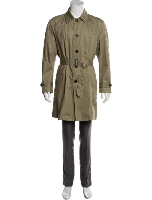 Hardy Amies Woven Trench Coat beige