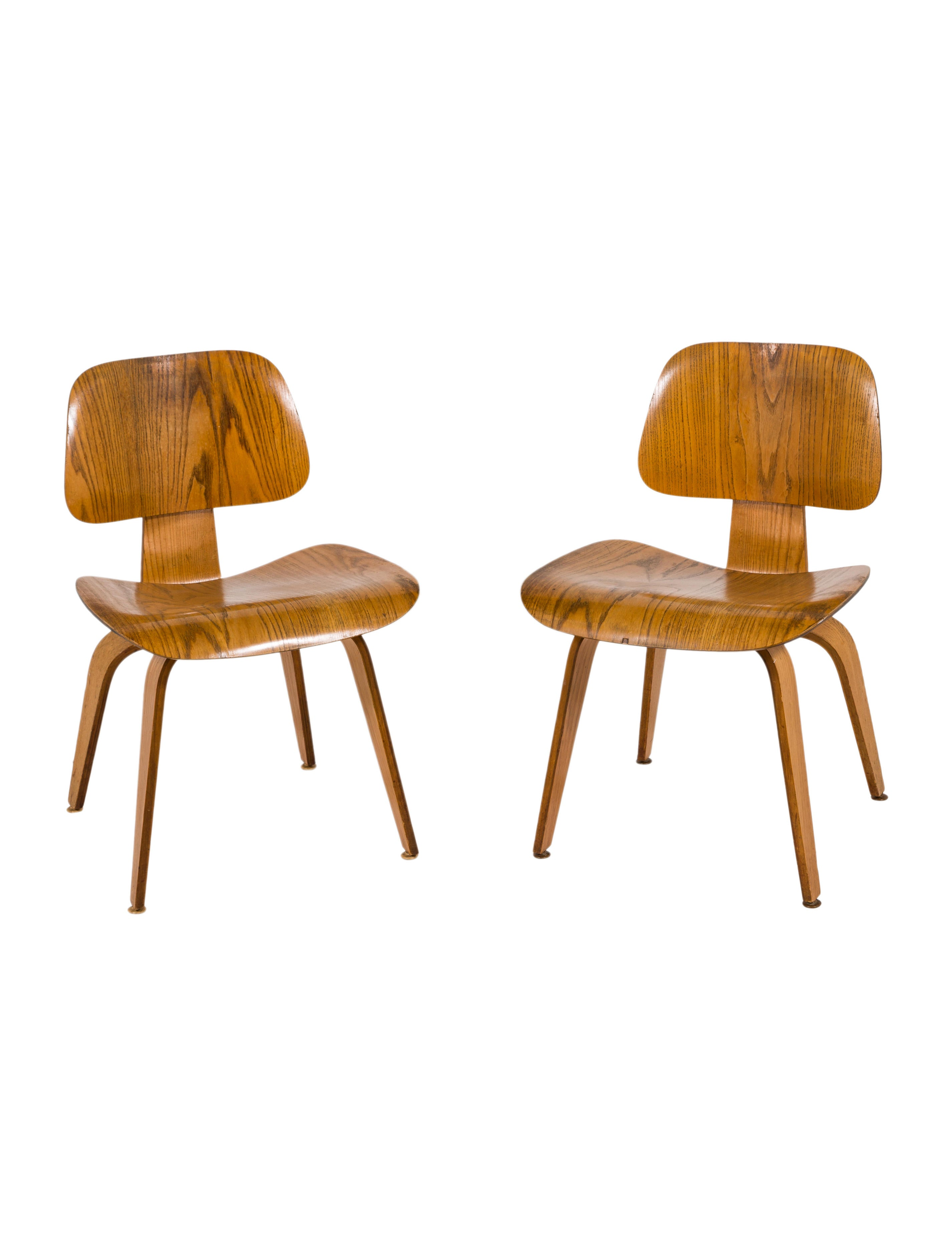 Pair of Vintage Eames DCW Chairs  sc 1 st  The RealReal & Herman Miller Pair of Vintage Eames DCW Chairs - Furniture ...