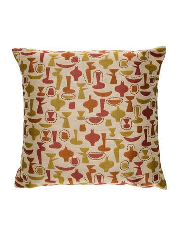 Herman Miller Maraham Eames Throw Pillow None