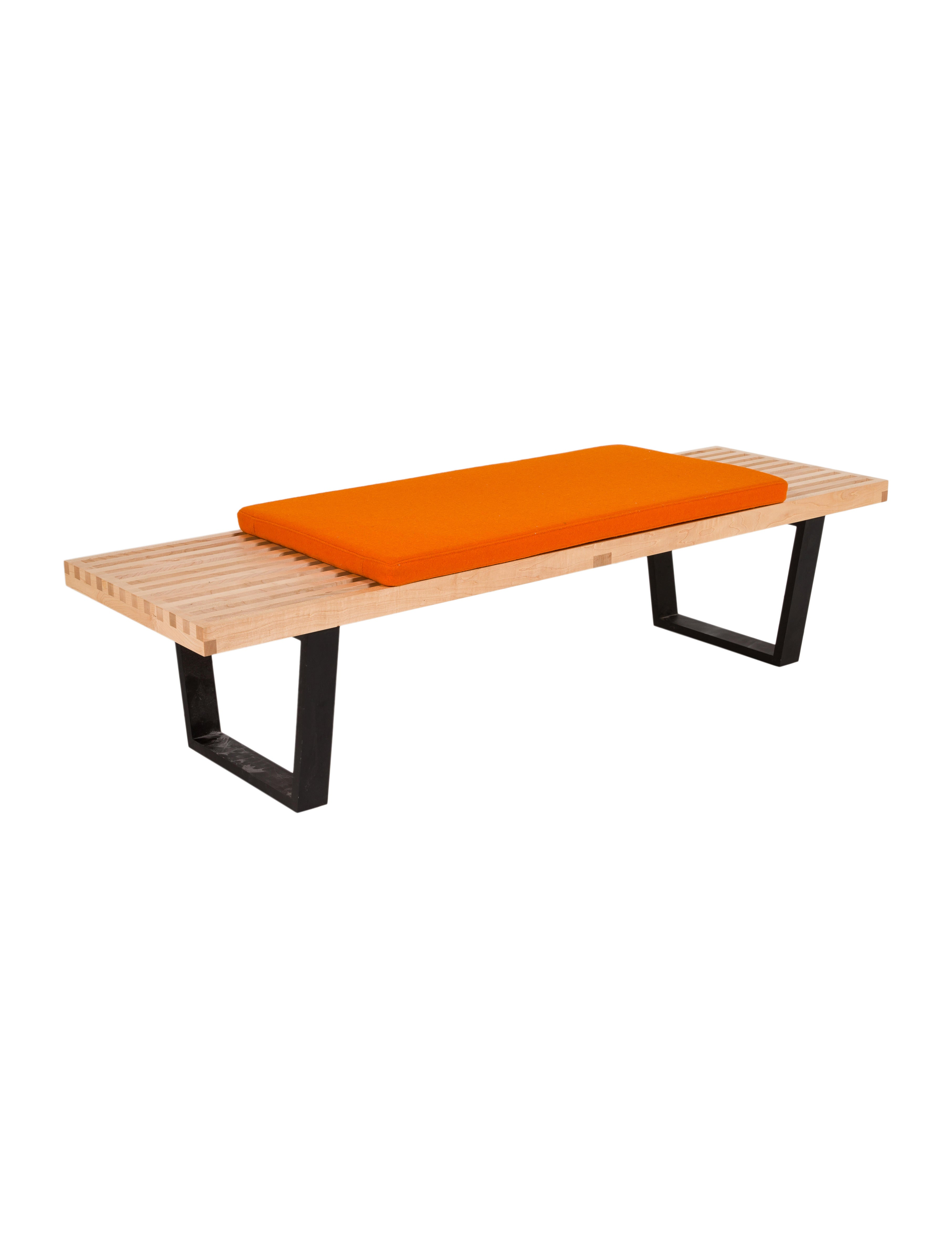 sling chairish for miller airport bench tandem herman product eames