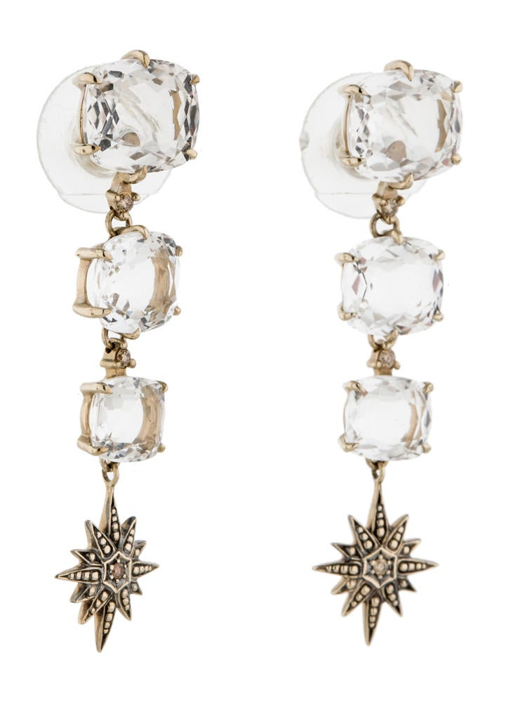 H Stern Moonlight Crystal Earrings Earrings Hst20036 The Realreal