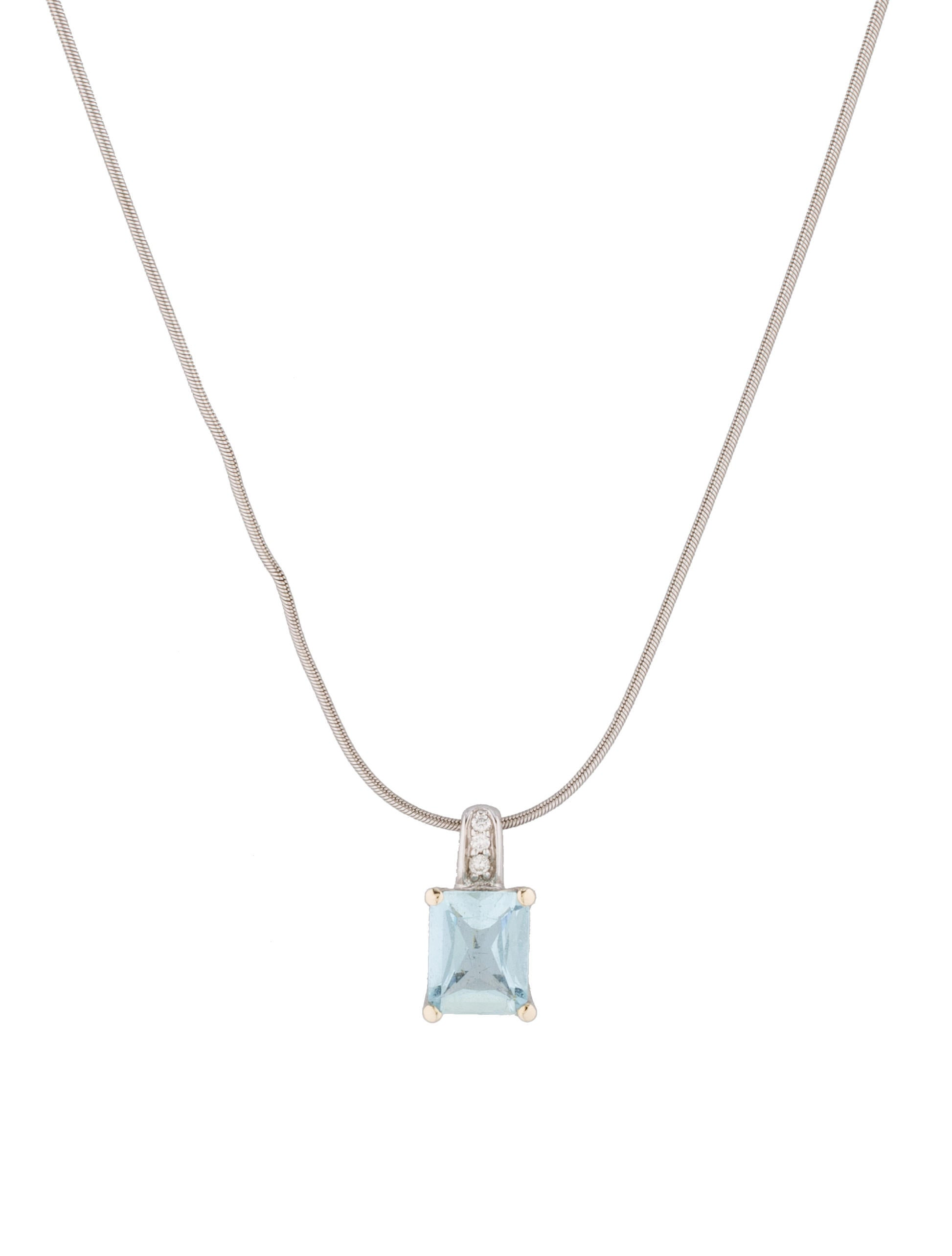 h necklaces solitaire products diamond necklace aquamarine jewelry stern enlarged pendant and