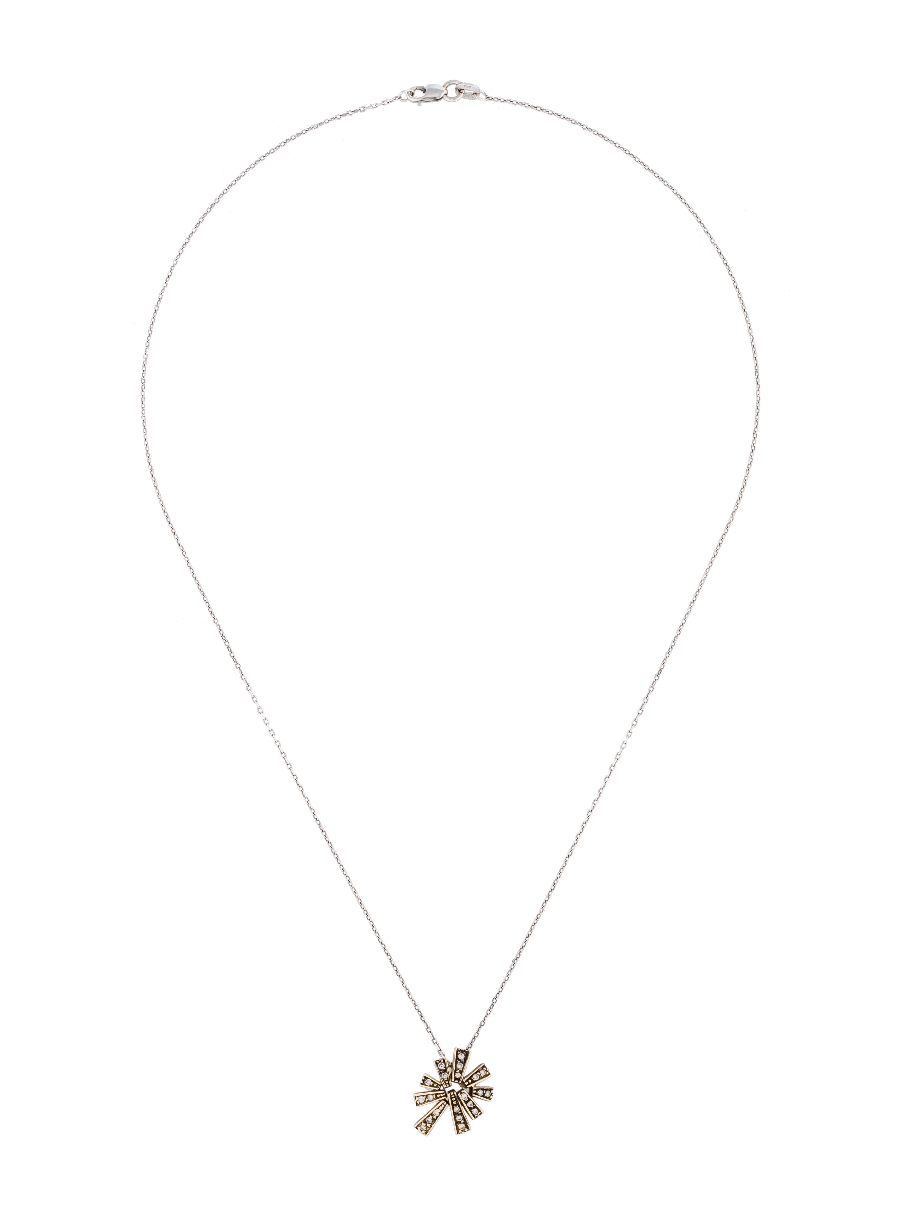 H Stern Stars Collection Diamond Pendant Necklace Necklaces