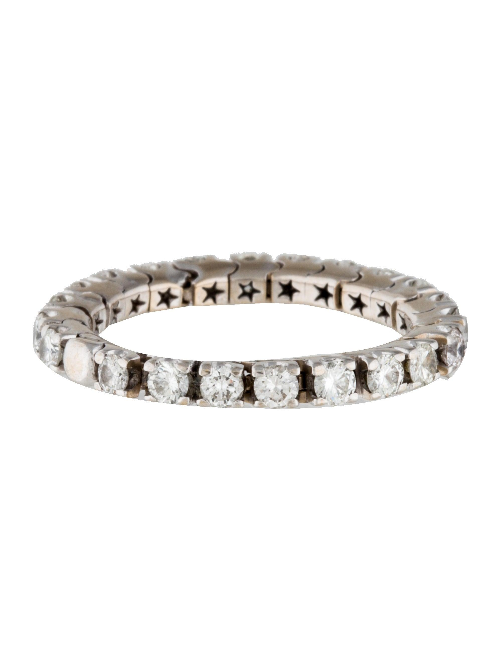 H.Stern Flexible Diamond Eternity Band - Rings - HST20234 | The ...