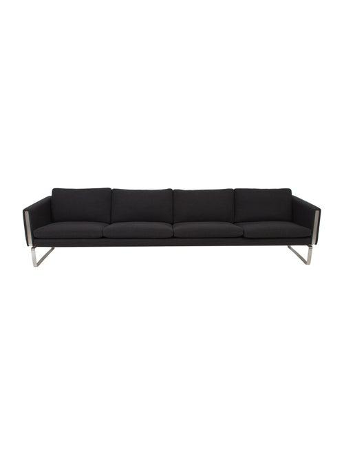 Hans Wegner Four Seat Upholstered Sofa Furniture