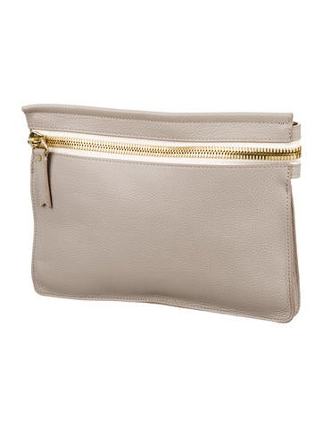 The Big Zipper Clutch