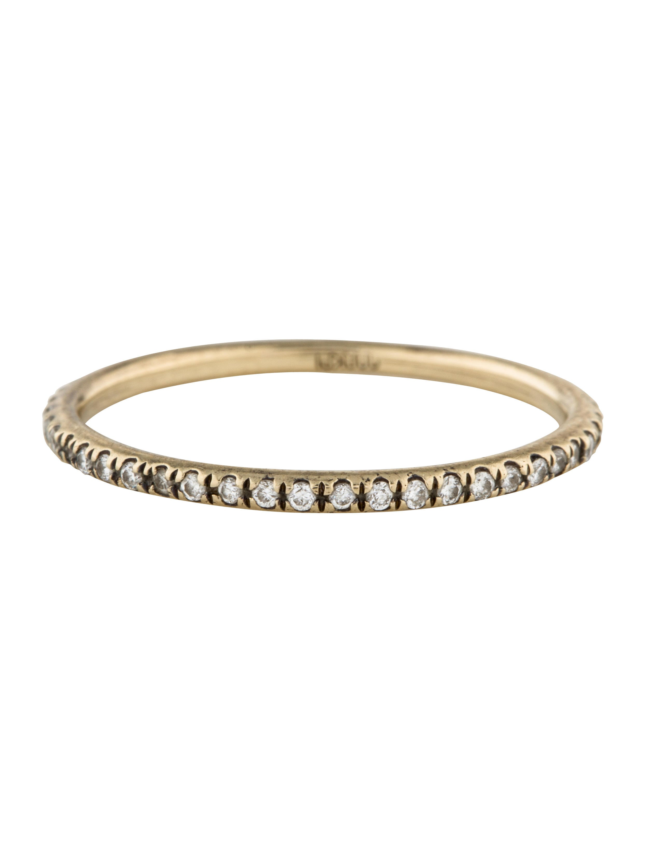 Ileana Makri Thread Band diamond ring - Unavailable