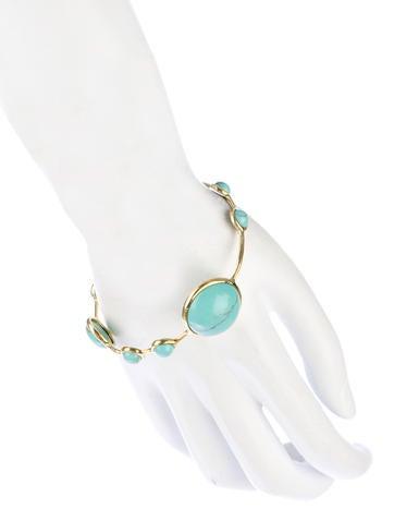 Turquoise Lollipop Bracelet