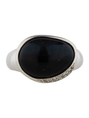 Onyx Pebble Ring