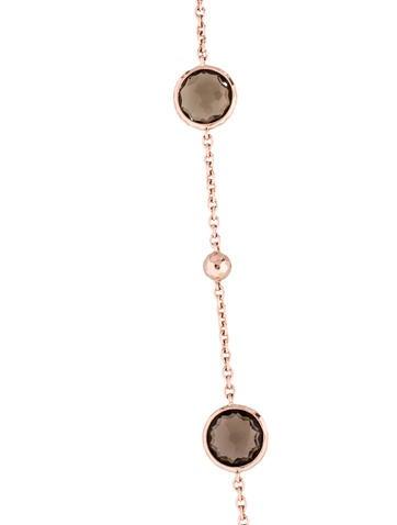 Rosé Mini Lollipop Quartz Necklace