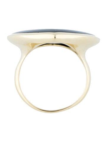18K Jazz Teardrop Ring