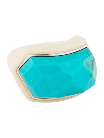 Turquoise Resin Ring