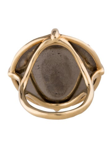 Rock Candy Gelato Pyrite Doublet Ring