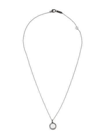 Wicked Quartz and Diamond Necklace