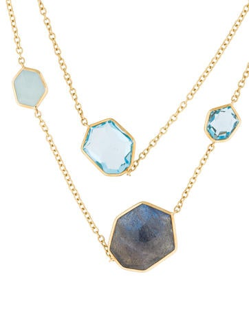 Starry Night Rock Candy Necklace
