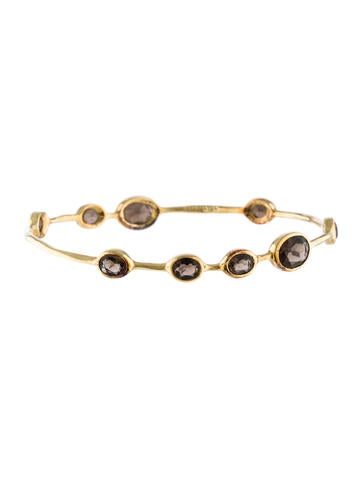 Ippolita 18K Smoky Quartz Bangle